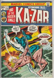 Astonishing Tales #17 (Apr-73) VF/NM High-Grade Ka-Zar, Zabu