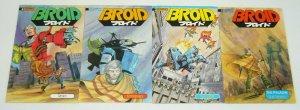 Broid #1-4 VF/NM complete series - eternity comics manga - tim eldred set 2 3