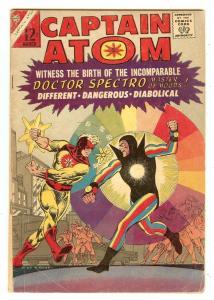 Captain Atom 79   1st Doctor Spectra