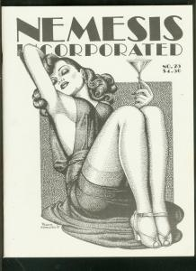 NEMESIS INCORPORATED FANZINE #25 1987-PULP-DOC SAVAGE-  VF