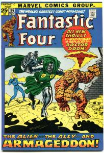 FANTASTIC FOUR #116, VF, Doctor Doom, Buscema, 1961, more FF in store, QXT