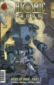 Atomic Robo: Dogs of War #2 VF; Red 5 | save on shipping - details inside