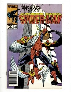 12 Web of Spider-Man Marvel Comic Books #2 4 5 6 11 13 14 19 21 23 24 29 GB2
