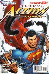 Action Comics (2011 series) #0, NM + (Stock photo)