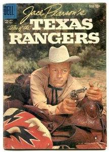 Jack Pearson' Tales of the Texas Rangers - Four Color comics #1021 VG