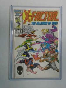 X-Factor #5 1st appearance of Apocalypse 4.0 VG (1986 1st Series)