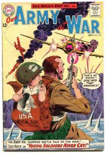 Our Army at War #132 1963- Sgt Rock- Joe Kubert DC Silver Age War