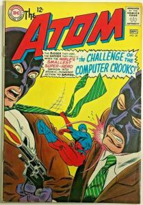 ATOM#20 VG 1965 DC SILVER AGE COMICS