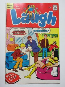 Laugh (Archie May 1969) #218 VG+