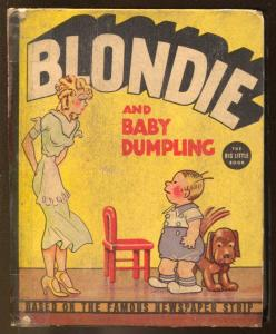 Blondie and Baby Dumpling #1415 1937-Whitman-Little Big Book-Chic YoungVG