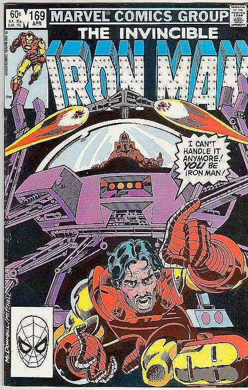Iron Man # 169 Strict VF High-Grade James Rhodes becomes the New Iron Man