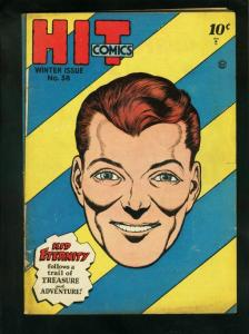 HIT COMICS #38 1946- KID ETERNITY-GOOD GIRL ART-QUALITY COMICS-very good VG