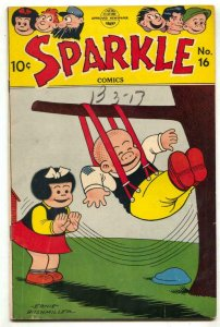 Sparkle Comics #16 1950- Nancy- Li'l Abner FN-