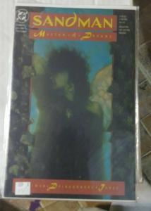 SANDMAN # 8 aug 1989 DC COMICS NEIL GAIMAN key ist death aperance