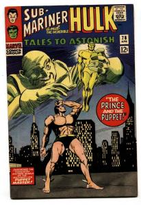 TALES TO ASTONISH #78 comic book 1965-HULK SUB-MARINER-MARVEL vf+