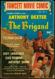 Fawcett Movie Comic #18 1952- The Brigand- Anthony Dexter F/G