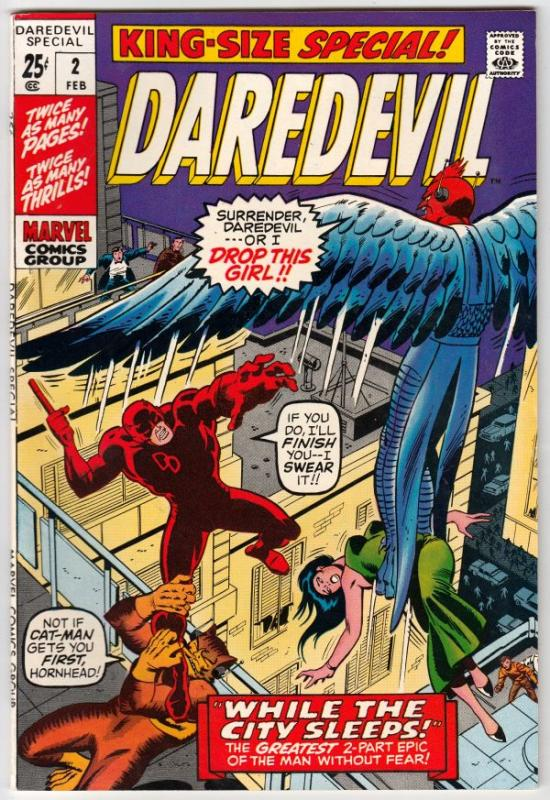 Daredevil King-Size Special #2 (Feb-71) NM Super-High-Grade Daredevil
