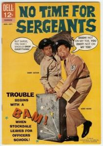 NO TIME FOR SERGEANTS (1965 DELL) 3 F-VF SAMMY JACKSON/ COMICS BOOK