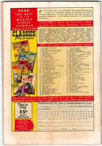Classics Illustrated #86 (Aug-51) VG Affordable-Grade