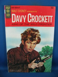 WALT DISNEY PRESENTS DAVY CROCKET VG F PHOTO COVER