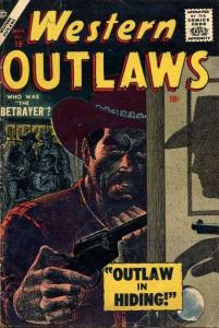 Western Outlaws (1954 series) #19, Good+ (Stock photo)