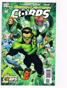 Green Lantern Corps # 19 DC Comic Books Awesome Issue Modern Age WOW!!!!!!!! S24