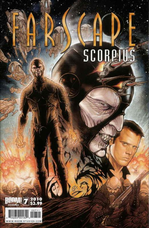 Farscape: Scorpius #7 VF/NM; Boom! | save on shipping - details inside
