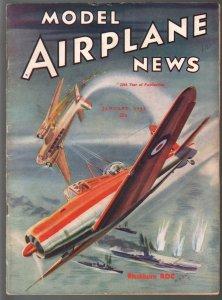 Model Airplane News 1/1941- Blackburn ROC-WWII era-pix-diagrams-FN