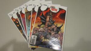 Batman Return of Bruce Wayne #1 to #6 set - VF - 2010