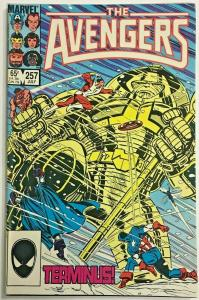 AVENGERS#257 VF 1985 FIRST NEBULA MARVEL COMICS