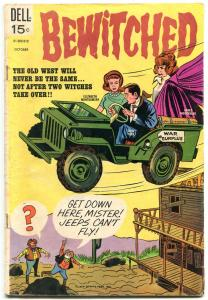 Bewitched #14 1969- Dell TV comic- Elizabeth Montgomery- Final issue VG