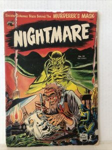 Nightmare #10 Kubert Cover