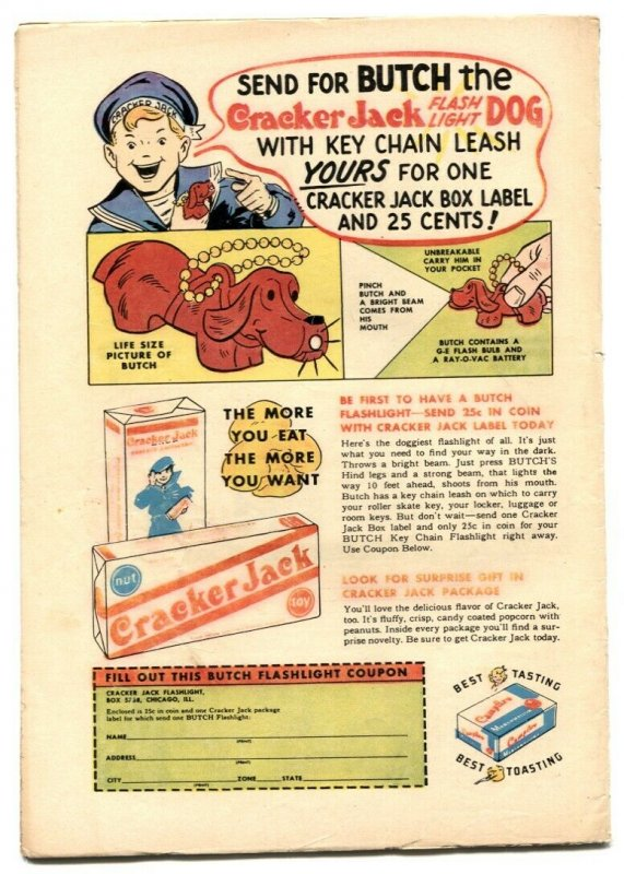 Mighty Mouse #47 1953- Lobster Men FN-