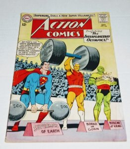 ACTION COMICS #304 (5.0) classic cover Silver Age DC Comics