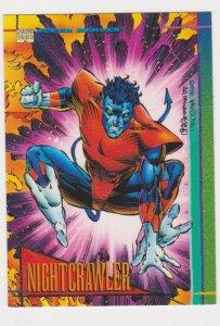 1993 Marvel Universe #42 Nightcrawler