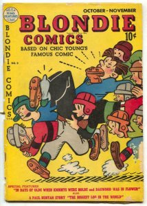 Blondie Comics #8 1948- football cover G/VG