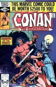 Conan the Barbarian (1970 series) #114, VF+ (Stock photo)