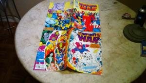 The Infinity War Issues #1 & #3 N/M Condition. Unread. Stored Away Since 1992