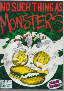 NO SUCH THING AS MONSTERS #4 - CHORUS COMICS - 1986