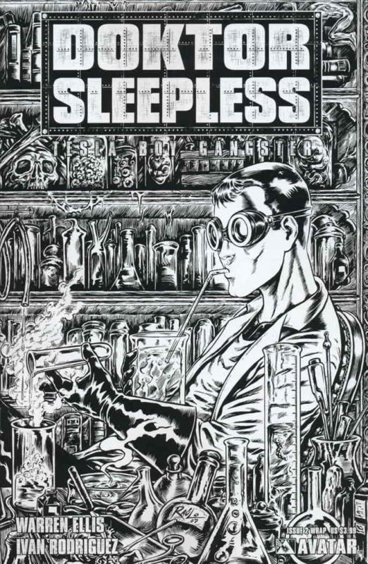 Doktor Sleepless #2A VF/NM; Avatar | save on shipping - details inside