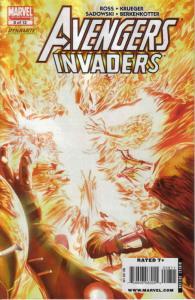 Avengers/Invaders #8 VF/NM; Marvel   save on shipping - details inside