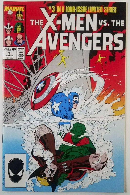 Marvels X-Men Vs Avengers mini-series 1987 Compete Run 1 2 3 4 Very High Grade