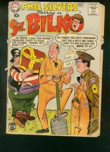 SGT BILKO #9 PHIL SILVERS CBS-TV SERIES   ARMY CON MAN FR