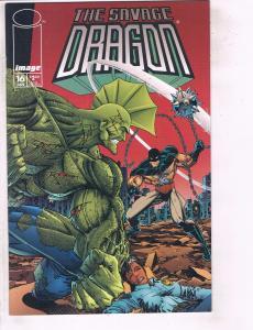 Lot Of 4 Savage Dragon Image Comic Books # 16 17 18 19 Erik Larsen Spawn DC7