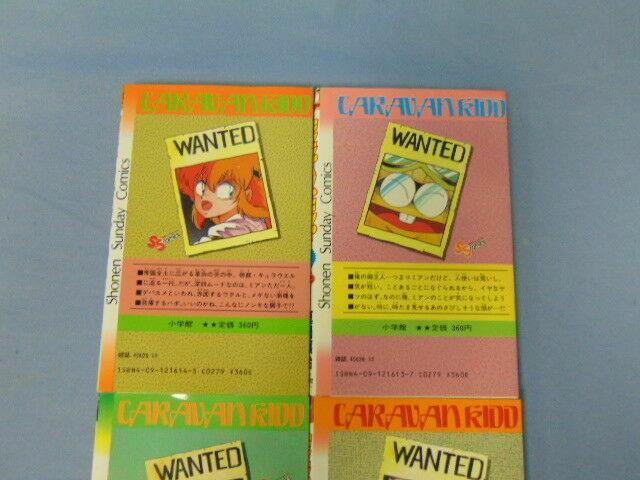 Caravan Kidd Kyaraban Kiddo Shonen Sunday Comics Manga Books 1 to 4 Japanese