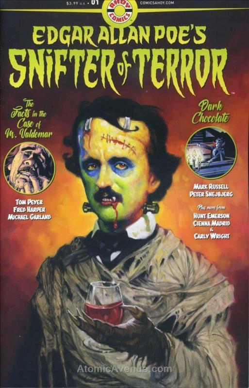 Snifter of Terror (Edgar Allan Poe's…) #1 VF/NM; Ahoy   save on shipping - detai