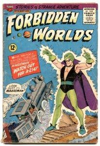 Forbidden Worlds #124 1965- MAGICMAN - G