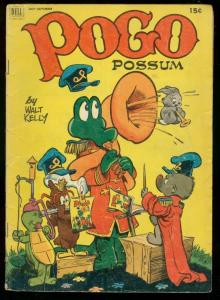 POGO POSSUM #10 1952-INFINITY COVER-WALT KELLY ART G/VG