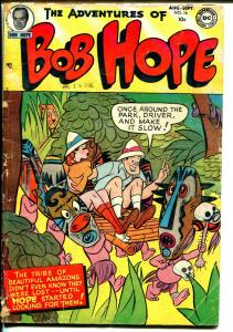 Adventures of Bob Hope #16 1952-DC-origin-jungle cover-skulls-G/VG