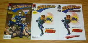 Stan Lee's Who Wants To Be A Superhero? #1-2 VF/NM complete series + preview